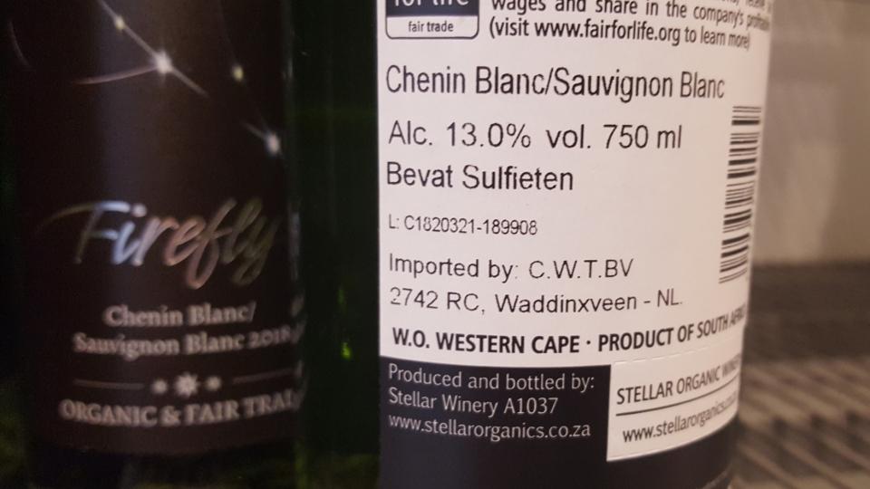 Hoe zit het met sulfiet in biologische wijn?