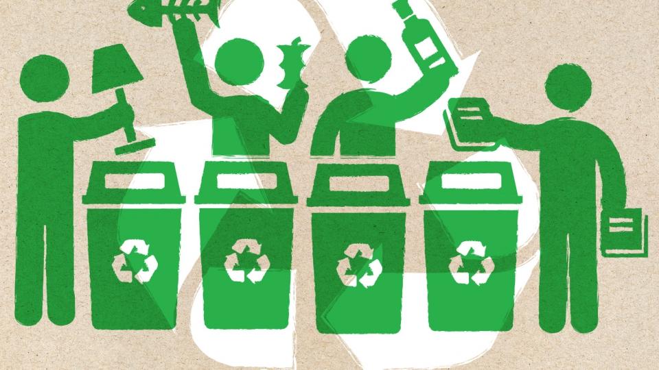Afval- en reststromen bij De Nieuwe Weg