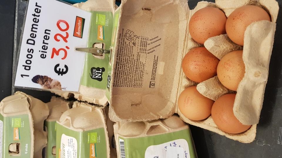 Prijsverhoging Demeter Eieren